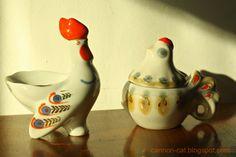 CannonCat - Karolina Falkiewicz art: Kury  russian china