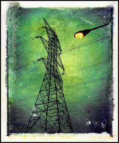 Polaroid Transfer, Tower by Ryan Thomas, via Flickr