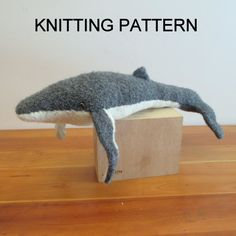 ... more stuffed toys whale knitting humpback whale knit crochet lovely