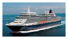 Cunard Queen Elizabeth - the 2nd largest cruise ship sailing for Cunard