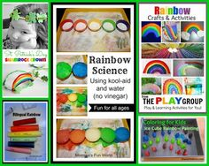 {Kid's Co-Op} Rainbow Activities for Kids + Color Learning (in 2 languages!)