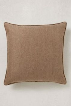 Brown Herringbone Cushion