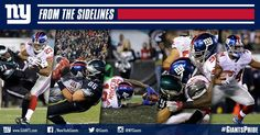 From the Sidelines: #Giants vs. Eagles