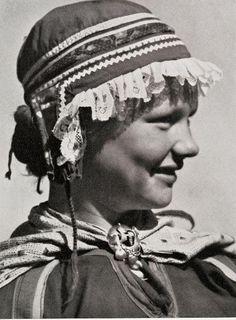 Sami girl Sweden ca. 1930