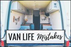 Van Life | Don't Make These Mistakes! – Divine On The road