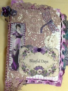 Fiber book for a friend -- wouldn't you love to be on the receiving end of this?