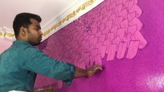 Top paint Amazing painting walls asian paints home design colours combin. Asian Paints Wall Designs, Paint Designs, Painting Walls, Wall Paintings, Bedroom Wall Designs, Decoration, House Design, Colours, Amazing