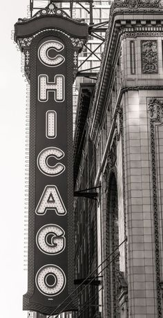 Chicago Photography Chicago Theater Black and White Photography Large Art Print Urban Art Fine Art Photography Chicago Theater Sign Gray Aesthetic, Black And White Aesthetic, Aesthetic Vintage, Aesthetic Grunge, Chicago Photography, Vintage Photography, Fine Art Photography, Product Photography, Photography Lighting