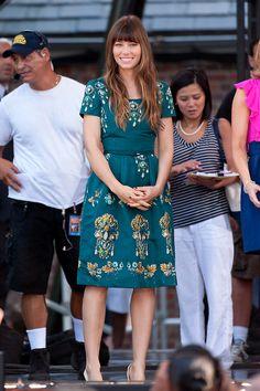 5c9316dd8a Jessica Biel tops this week s Best-Dressed List Jessica Biel