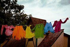clothesline over the roofs by vereiasz #EasyNip