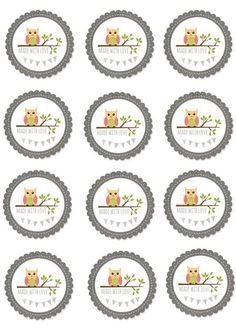 basteln Some of you liked my owl labels. Then I thought I would make some for you. Free Printable Tags, Free Printables, Owl Labels, Plotter Silhouette Cameo, Diy Paper, Paper Crafts, Diy Stickers, Vintage Labels, Stamping Up