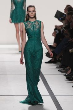 "Definitive Proof ""Games Of Thrones"" Style Has Infiltrated Fashion Week Elie Saab Spring/Summer 2014"