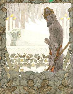 Snow White by Heinrich Lefler and Joseph Urban