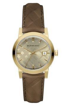 10847d65b Image of Burberry Women s The City Swiss Quartz Watch