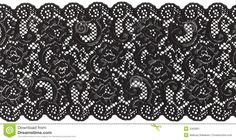 Black Lace Stock Image - Image: 2362801