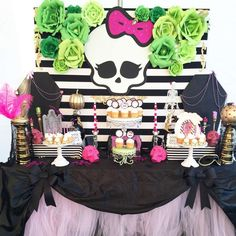 Monster High Halloween Party Ideas | Photo 1 of 7 | Catch My Party