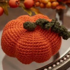 Make a Crochet Pumpkin or two for fall decor