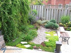 Water features, firepits, amazing patio decor and more will fill your mind with ideas. Turn a muddy space into a glam patio Lay concrete pavers in a pattern… Flagstone Patio, Concrete Pavers, Backyard Privacy, Front Yard Landscaping, Backyard Patio, Landscaping Ideas, Garden Features, Water Features, Stone Backyard