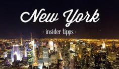 15 Insider Tipps für die Städtereise nach New York: Wo Einheimische in New York am liebsten essen, trinken, feiern. Besondere Geheimtipps von einem Local.