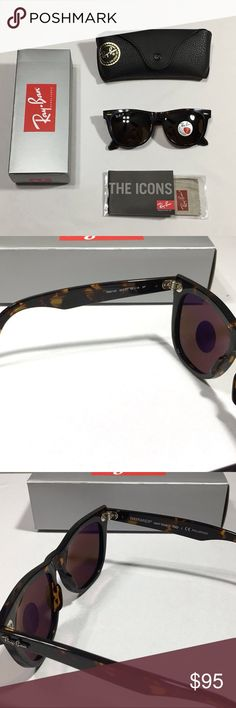 Ray Ban Wayfarer Classic Tortoise Polarized Ray Ban Wayfarer Classic RB 2140 Model Polarized - Brand New - Includes box, case, manual, and cloth - RB etched lense - Authentic Made in Italy - Size 54 mm (Large Size)  - Unisex Frames - Shipped with 1-2 day and satisfaction guaranteed or contact me again! - WILLING TO TAKE REASONABLE OFFERS!   #summer #spring #RB4175 #RB4171 #RB2140 #RB2132 #RB4165 #RB3025 #RB3026 #RB3016 #clubmasters #clubmasteroversized #erikas #uv #sunglasses #justins…