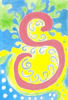 Original  Synchronicity Art Print 8x10 by ChanelledCreations, $16.00