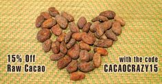 It must the the joys ot spring in the air that's perked us all up at Woolley Wonkaland. So much so we're knocking 15% off all our Ecuadorian Raw Cacao till the end of Feb Simply use the code CACAOCRAZY15 when you shop at http://rawchoc.info/cacao for the saving to automajically be applied