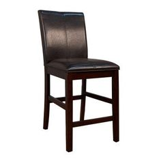 A-America Parsons Curved Back Counter Stool - Espresso - Set of 2 Brown - AAME059-4, Durable