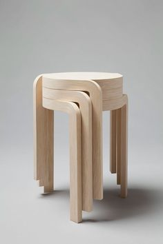 Staffan Holm; 'Karusell' Stacking Stools, 2010.