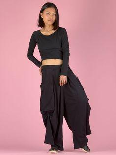 Pantalon coton thaïlandais ample