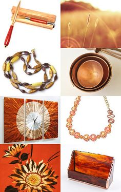 Colors of Fall! by Bev Martin on Etsy--Pinned with TreasuryPin.com