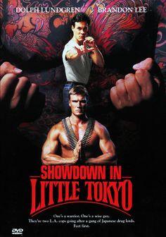 showdown in little tokyo, original poster, poster, dolph lundgren, brandon lee, dvd cover