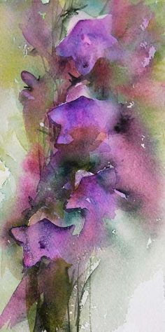 Jean Haines   WATERCOLOR #watercolorarts