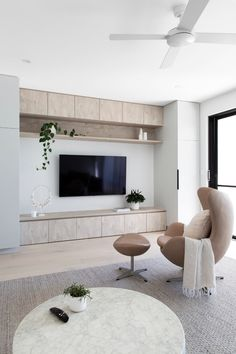 Tv wall design tips for the living room ideas improve the environment 4 Related Home Living Room, Living Room Decor, Living Spaces, Tv Wall Design, House Design, Living Room Tv Unit Designs, Interior Design, Styling Tips, Connect
