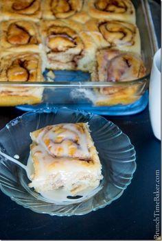 Homemade Bread Recipes - fluffy cinnamon rolls