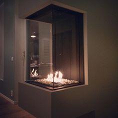 #fredagskveld #gasspeis #bellfires #fireplace #gasfireplace #koseligmedpeis
