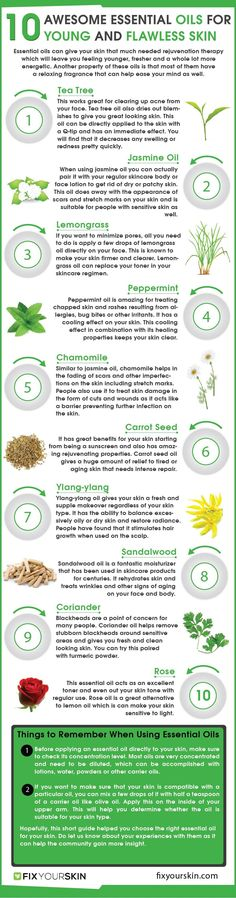 Taking Care Of Your Skin: Essential Oils | Essential Oils For Skincare