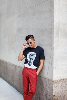 (via What Do You Mean – oh_anthonio) FACEBOOK  ... / OhAnthonio What Do You Mean, Blue Suede Shoes, Concert Tees, Justin Bieber, Personal Style, Trousers, Street Style, Suits, Shopping