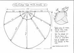 Выкройка модной юбки. Размеры 36-56 (Шитье и крой)   Журнал Вдохновение Рукодельницы