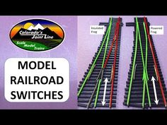 Peco Insulfrog VS Electrofrog Model Railroad Switches or Turnouts N Scale Layouts, Hobby Shops Near Me, Electric Train Sets, Ho Model Trains, Popular Hobbies, Standard Gauge, Hobby Trains, Model Train Layouts, Train Tracks