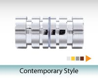 Contemporary Style Shower Door Knobs