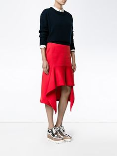 Marni falda asimétrica