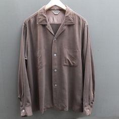 1960'S VINTAGE【CUSTOM QUALITY】レーヨンシャツ - RUMHOLE beruf online store