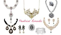 Jewelry for Theatrical Romantic (Kibbe). Typ urody Theatrical Romantic – femme fatale.