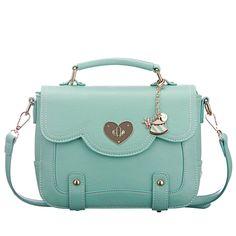 Cool Mint Green Messenger Bag&Shoulder Bag