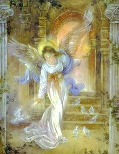 My guardian angel is tender and caring with me and with All!