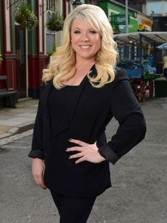 EastEnders' Sharon Mitchell makes Lord Sugar gaffe, and fans are loving it Eastenders Cast, Eastenders Actresses, Actors & Actresses, Diane Parish, Tamzin Outhwaite, Sharon Mitchell, Hollyoaks, Soap Stars, Tv Soap