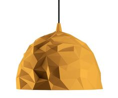 Diesel+Foscarini Rock Pendel Lampe Guld