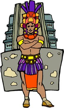 Aztec Art Drawing