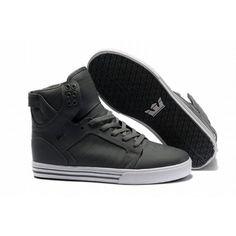 Supra Skytop High Skate Shoes cool grey