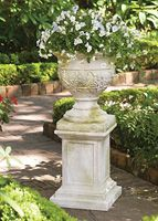 Weaved Classical Urn | Charleston Gardens® - Home and Garden Collection Classic outdoor and garden furnishings, urns & planters and garden-related gifts